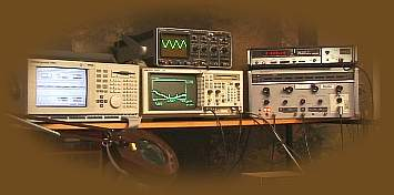 Some of Trevors test equipment